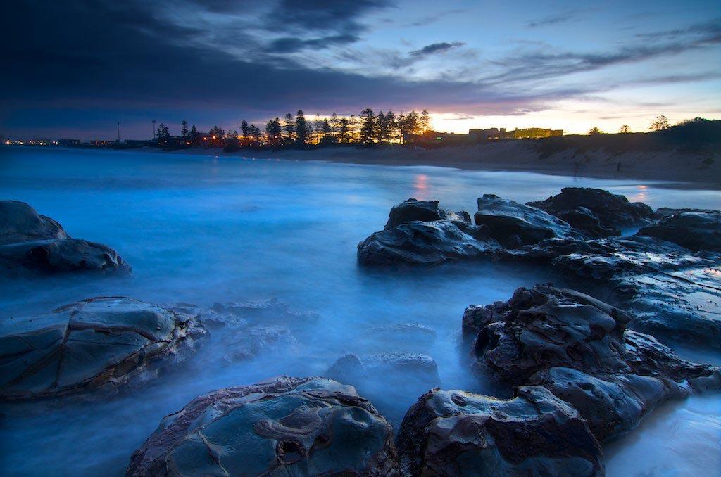 South Beach Blue - South Beach, Wollongong, NSW, Australia