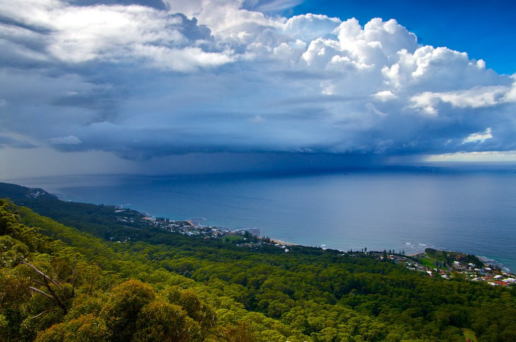 Northern Suburbs Storm Cloud - Sublime Point, NSW, Australia