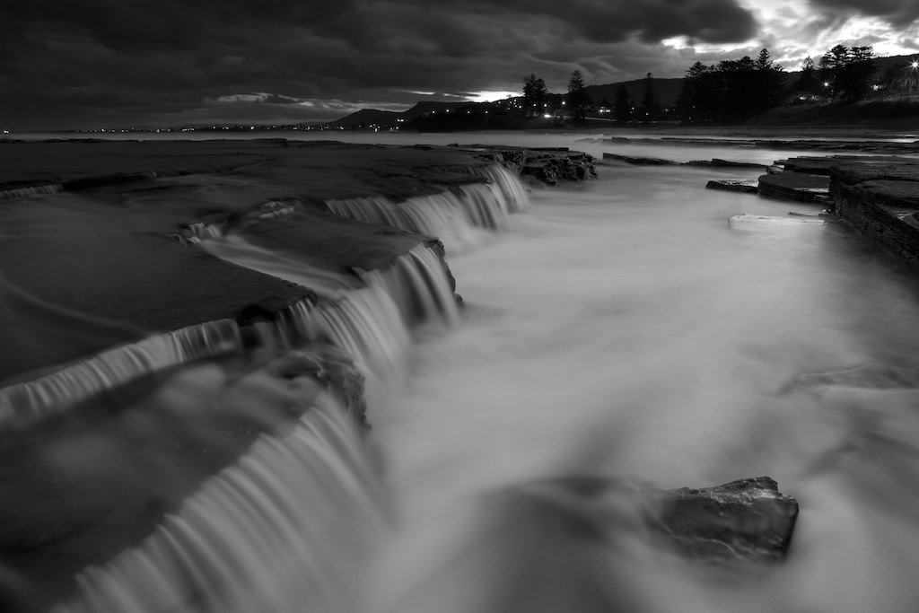 Austinmer Waterfalls II - Little Austinmer Beach, NSW, Australia
