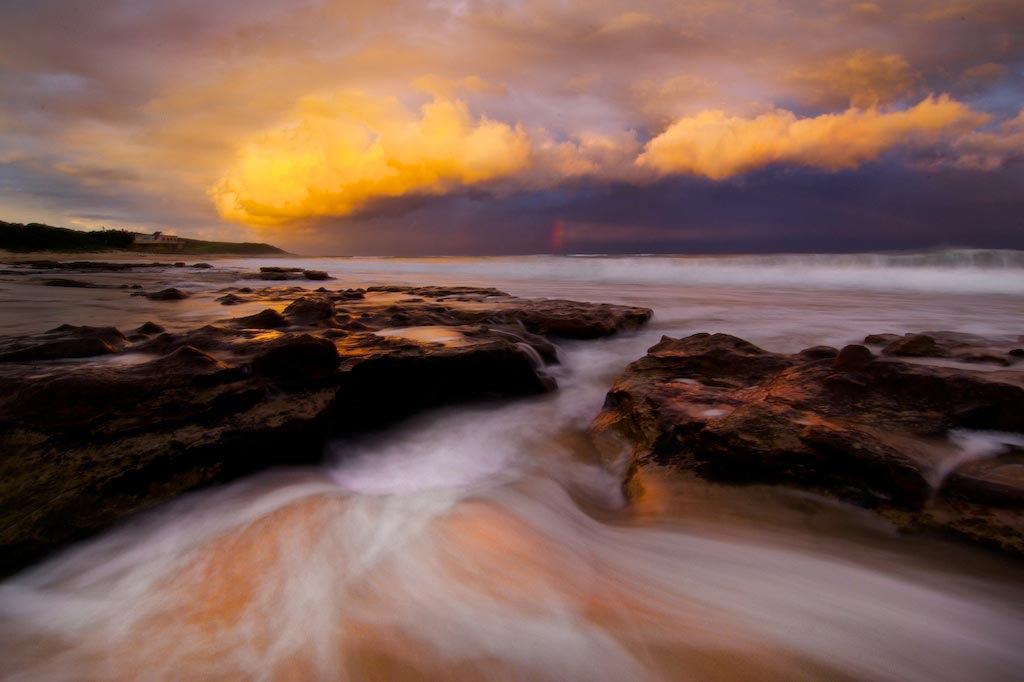 Sandon Point Stormclouds - Sandon Point, Bulli, NSW, Australia