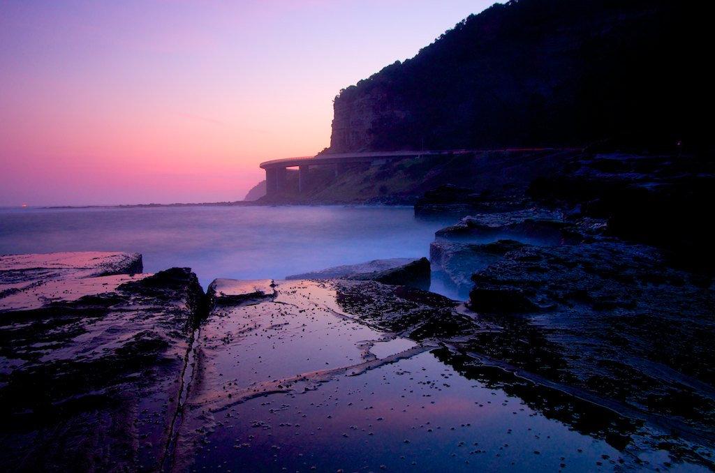 Sea Cliff Bridge - Coalcliff, NSW, Australia