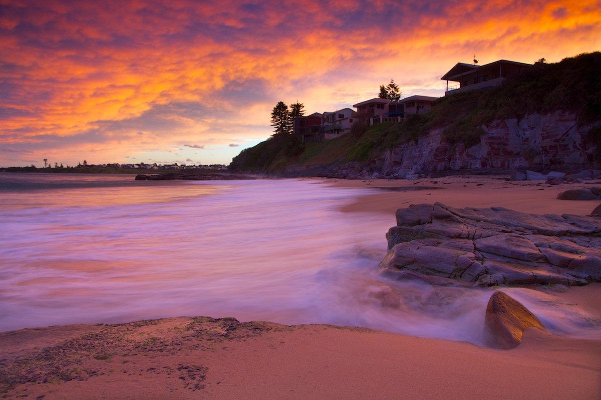 Thirroul Beach Sunset - Variant 6 - Thirroul