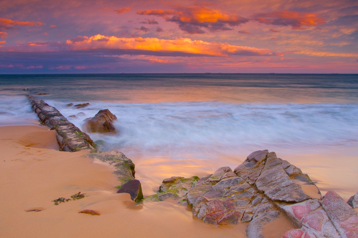 Thirroul Beach Sunset - Pool Pumphouse Pipe - Variant 2 - Thirroul