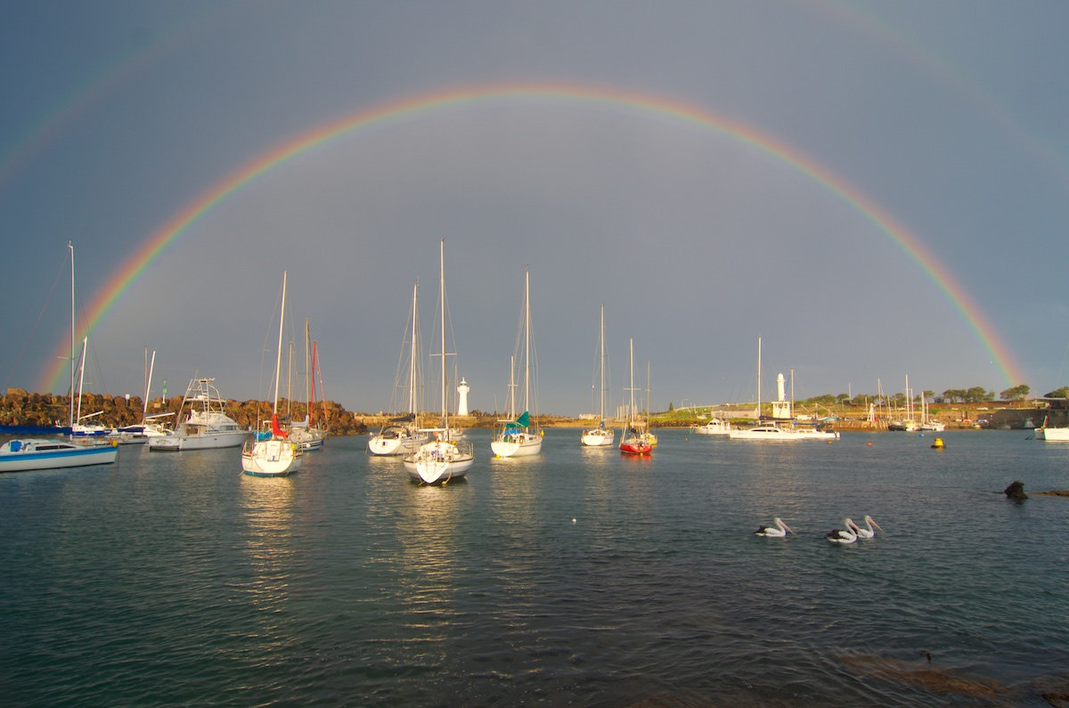 Wollongong Harbour Rainbow II - Belmore Basin / Wollongong Harbour