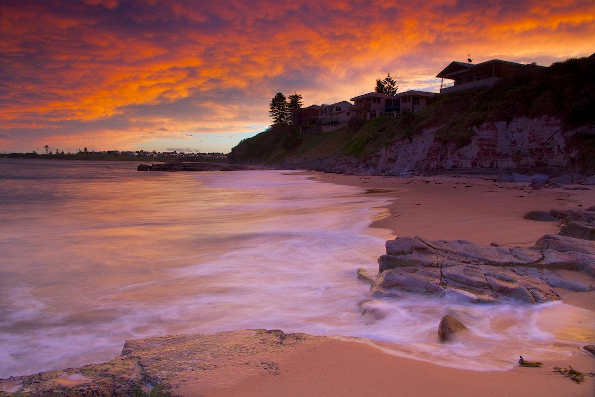 Thirroul Beach Sunset - Variant 3 - Thirroul