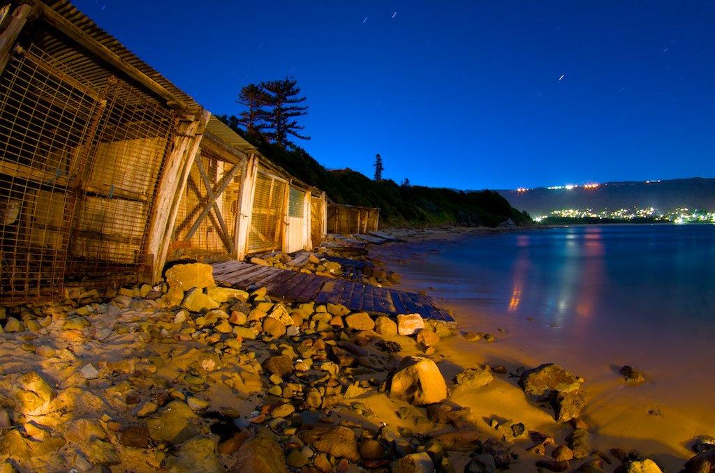 Sandon Point Boatsheds II - Bulli, NSW, Australia