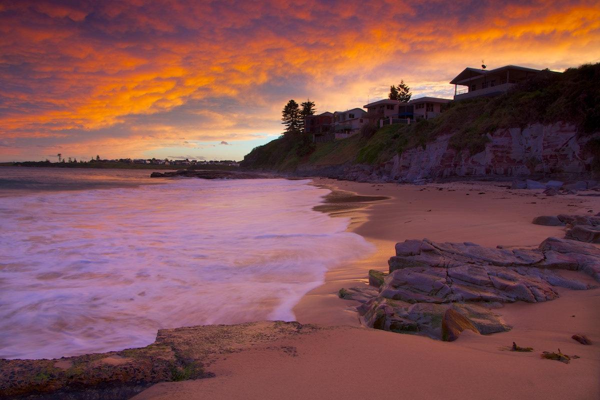 Thirroul Beach Sunset - Variant 4 - Thirroul