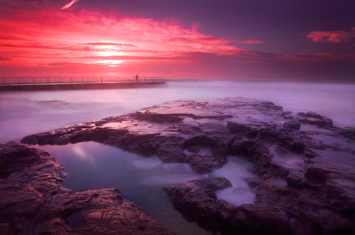Bulli Rock Pool Sunrise - Variant 4 - Bulli