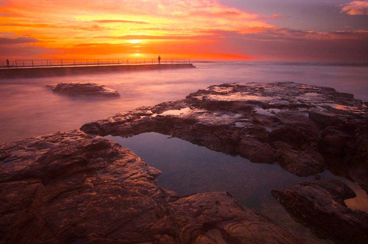 Bulli Rock Pool Sunrise - Variant 1 - Bulli