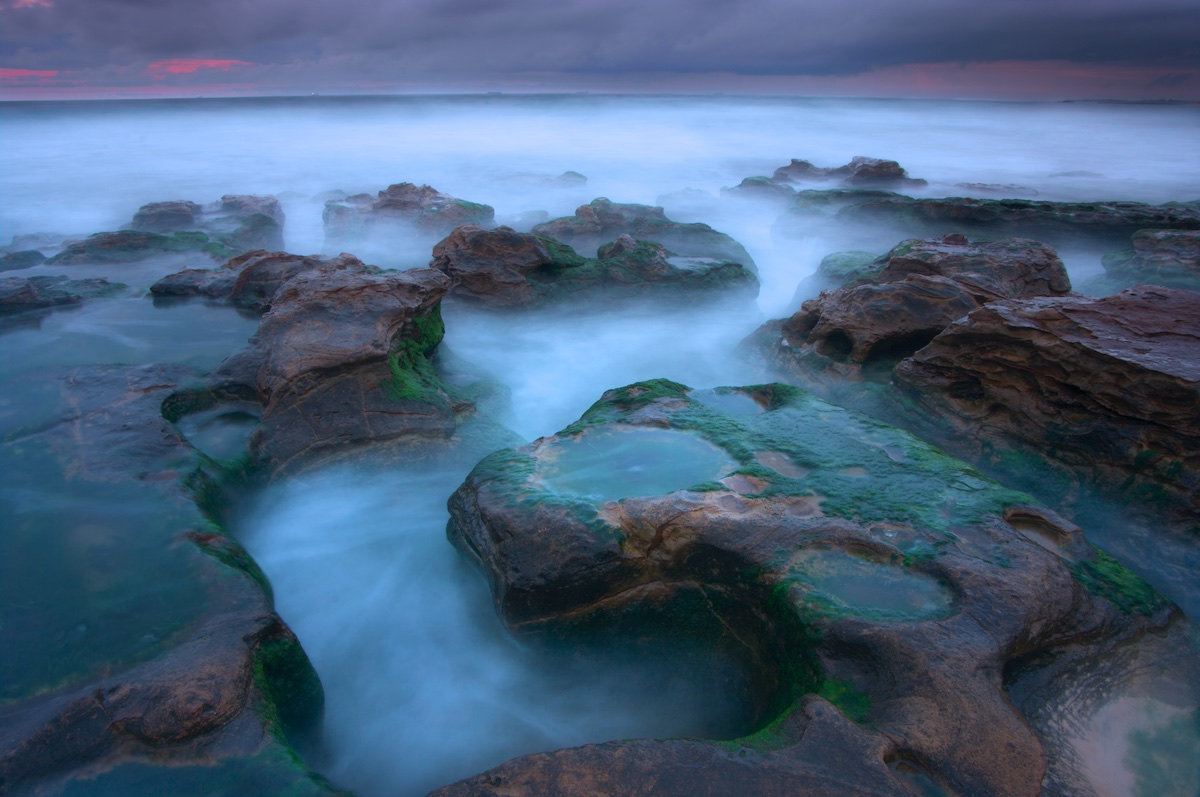 Reef Rocky Mist - Sandon Point Beach, Bulli