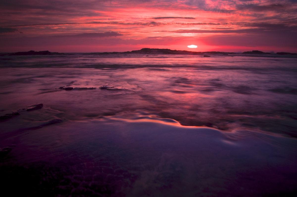 Bulli Rock Pool Sunrise - Variant 5 - Bulli