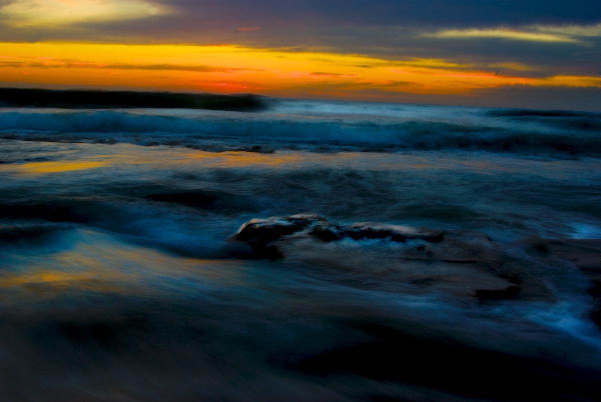 Bulli Beach Sunrise - Vivid Reef Break - Sandon Point Beach, Bulli
