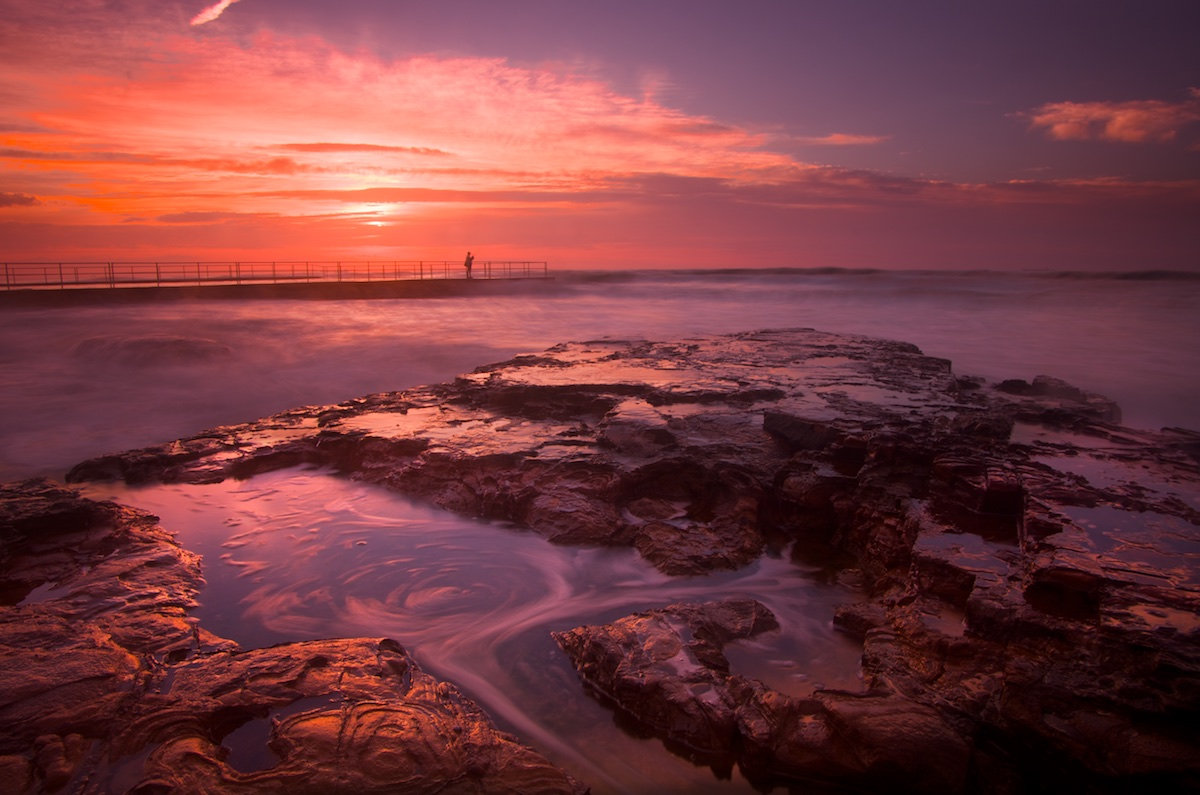Bulli Rock Pool Sunrise - Variant 2 - Bulli