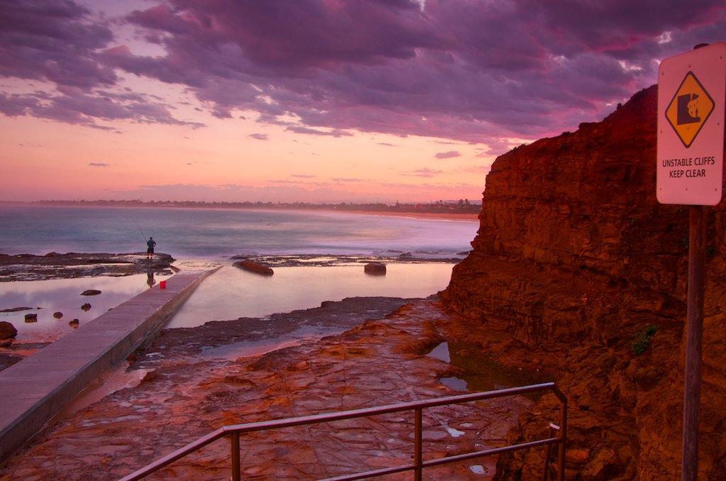 Woonona Beach Fisherman - Woonona, NSW, Australia