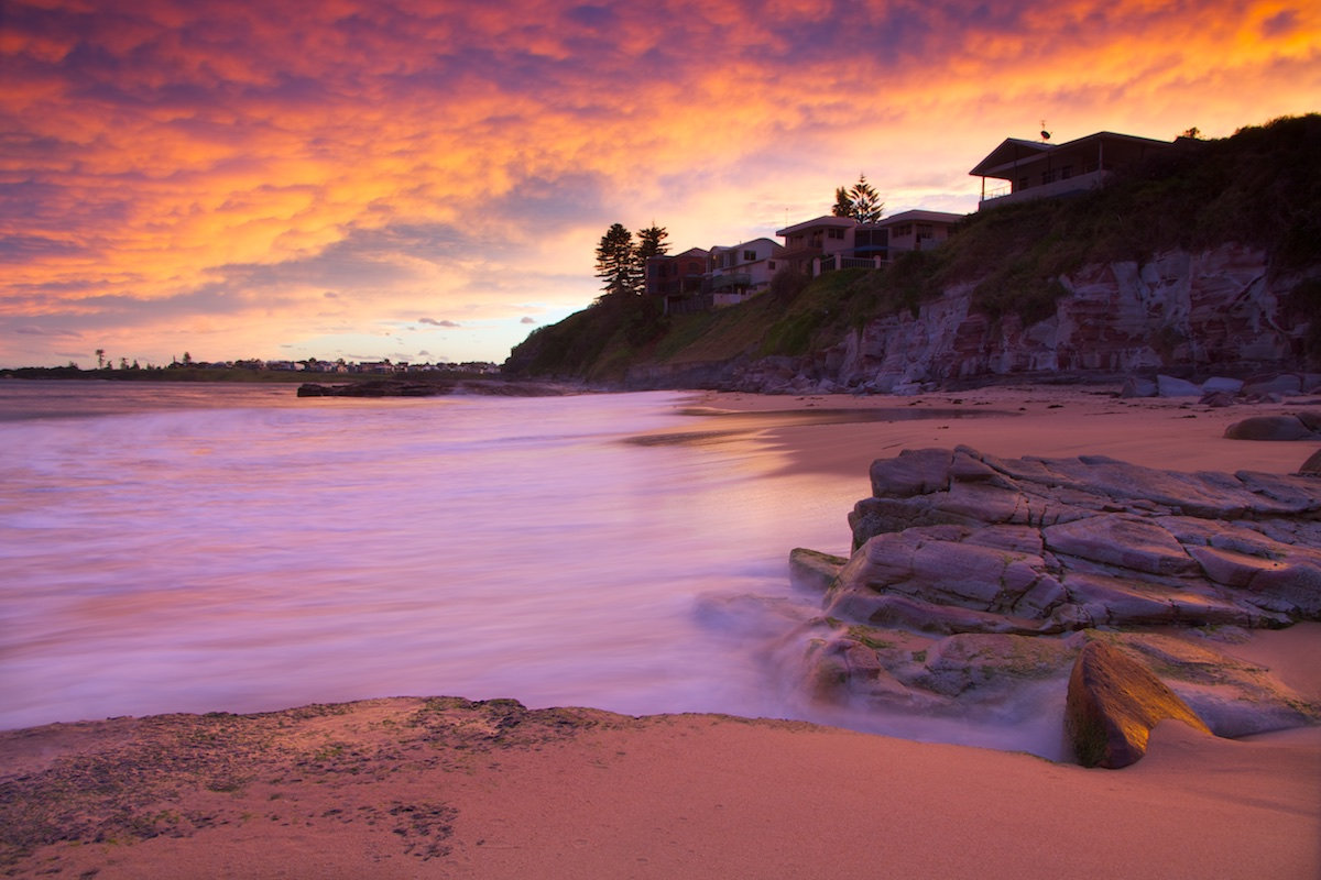 Thirroul Beach Sunset - Variant 5 - Thirroul